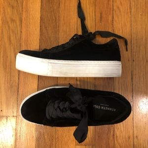 Kenneth Cole Abbey platform sneakers